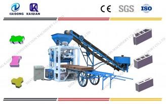 QT Semi Automatic block machine catalogues