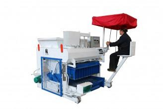 QTM6-24 Mobile Block Making Machine