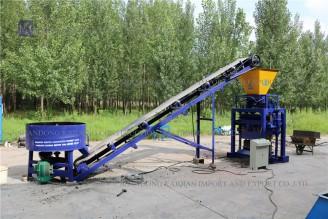 Low Price Semi-automatic Brick Making Machine Price
