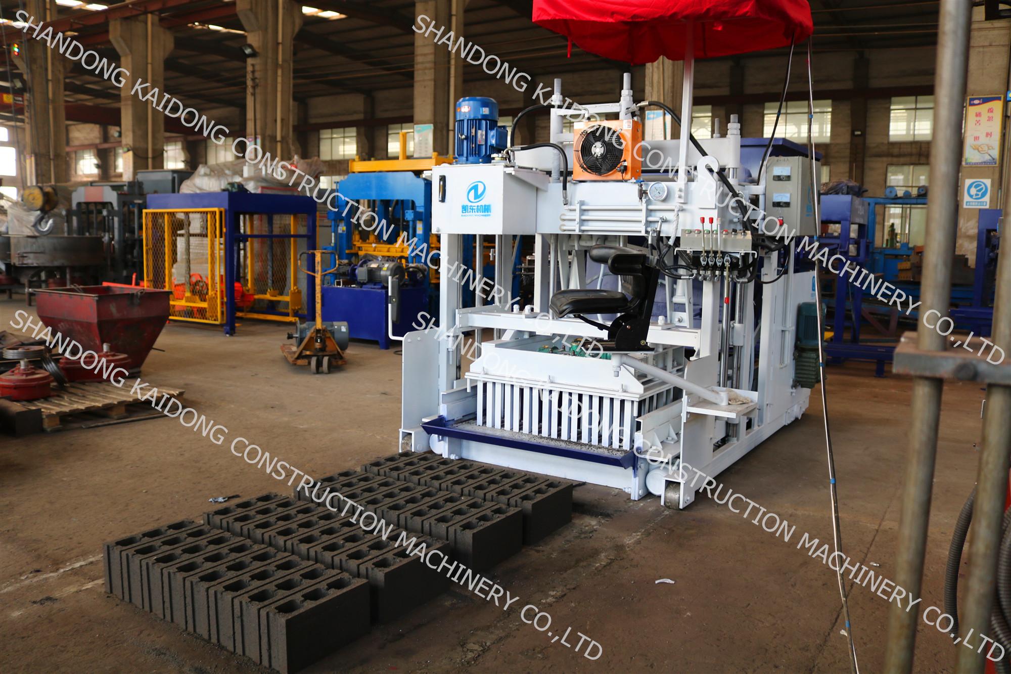 QTM10-15 Mobile Block Making Machine
